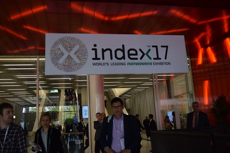 我司参加2017年瑞士日内瓦无纺布展INDEX2017